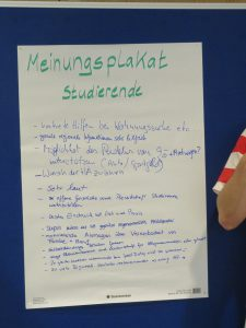 Get Together I - Meinungsplakat Studierende